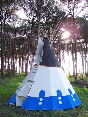 Tipi de 4m, modelo Blackfoot