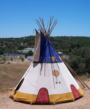 """ Dream Cutcher"" teepee"