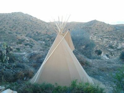 5m teepee, Almeria,south of Spain.