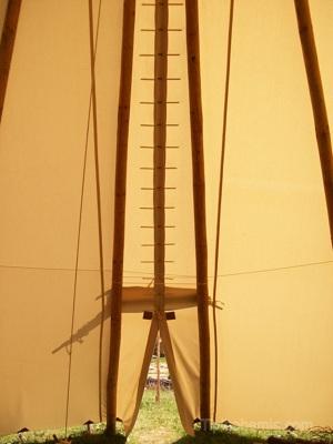 Large ceremonial teepee,10m.