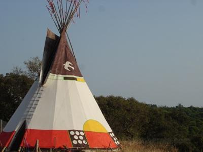 Cheyenne style teepee